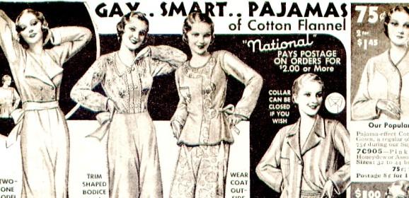 Ladies Schlafkleidung – Nachthemd & Pyjama