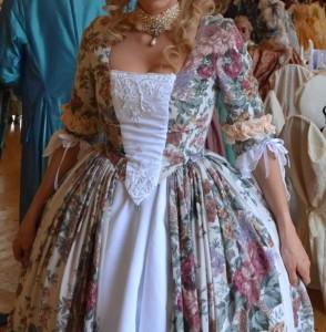 Rokoko Kleid schneidern
