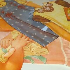 Vintage Ausschneidepuppen Shirley Temple