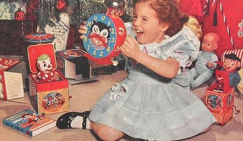 Vintage Wichteln – Weihnachten in Vintage